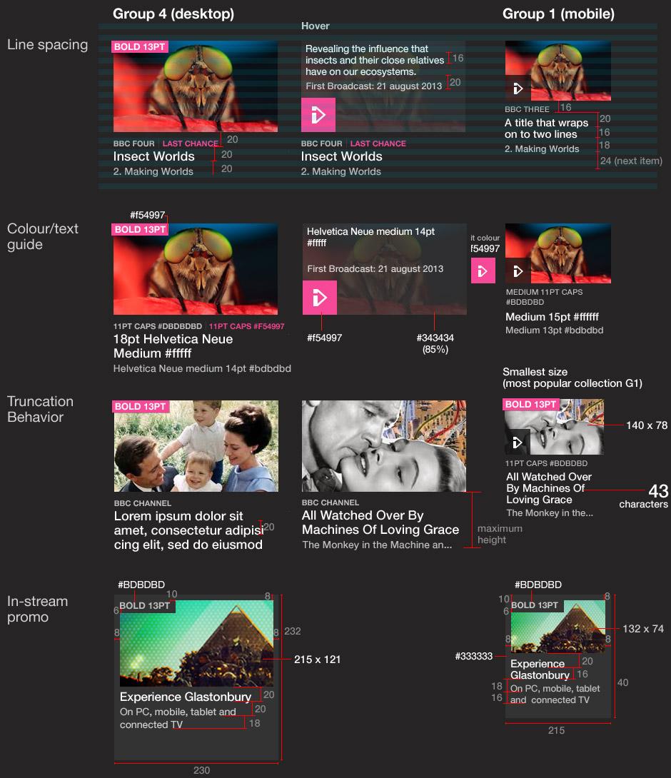 iPlayer homepage stream items