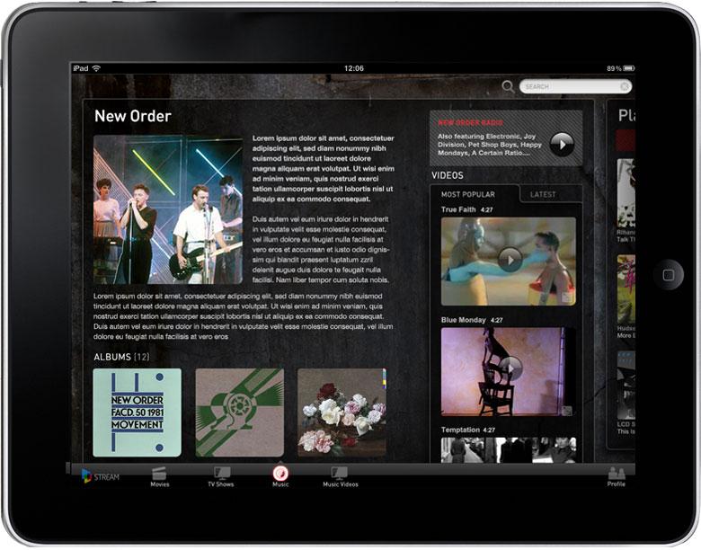 iPad Music Artist