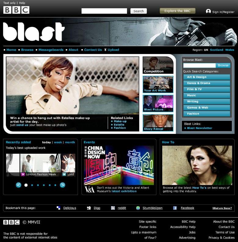 BBC Blast