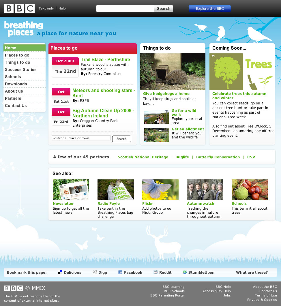 BBC Breathing Places Campaign