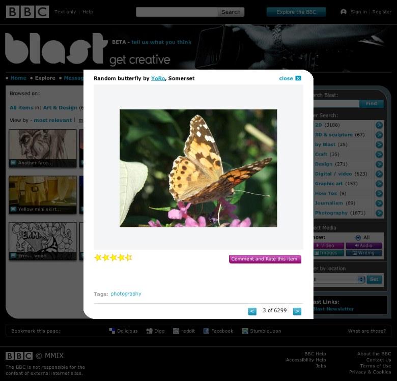 BBC Blast content