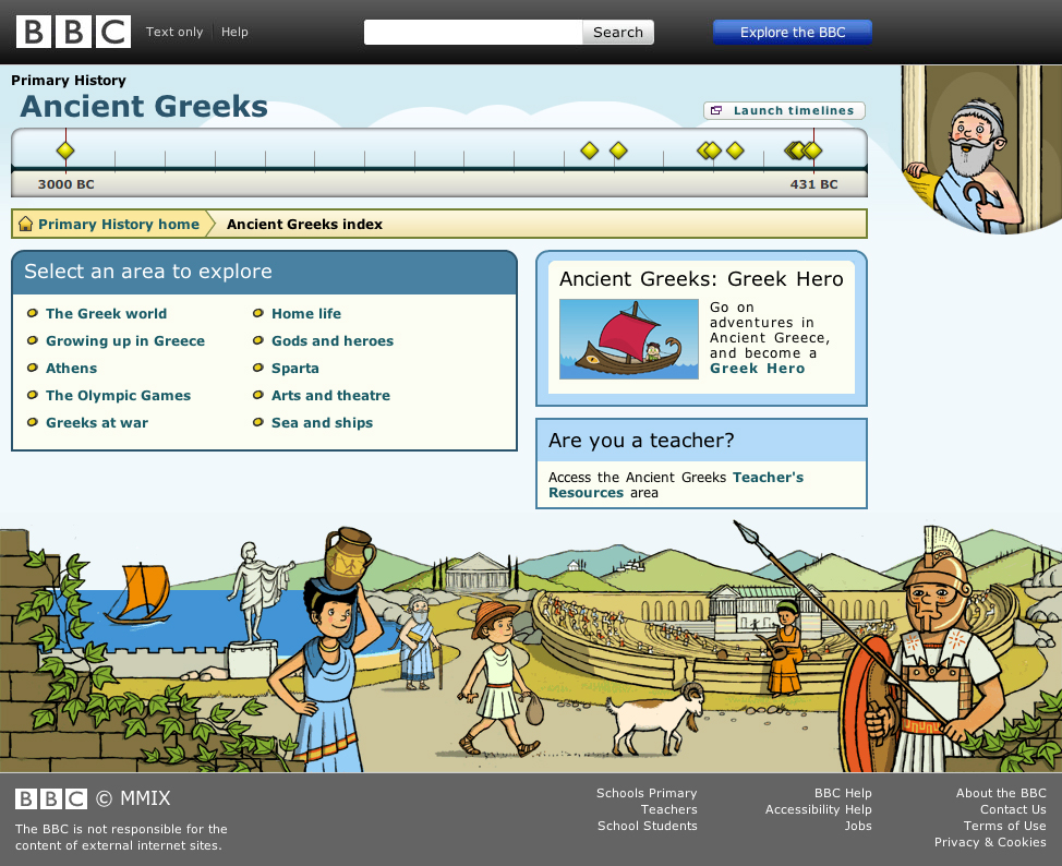 Primary homework help modern greece