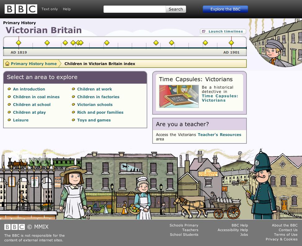 BBC Primary History Victorian Britain