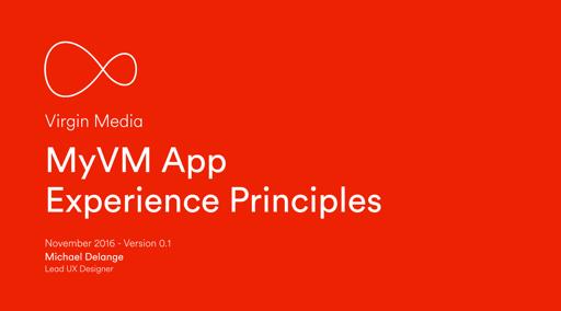 Experience Principles deck image